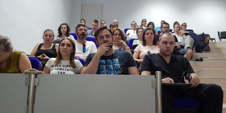Първа информационна среща с докторанти, специализанти и млади учени по проекта за подпомагане на тяхното развитие се проведе в МУ-Плевен