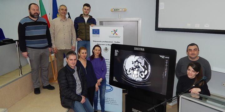 Студентът на годината и Златен Хипократ д-р Мартин Караманлиев стана част от целевата група по проекта за развитие на докторанти, специализанти и млади учени